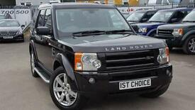 2009 LAND ROVER DISCOVERY 3 TDV6 HSE FANTASTIC BOURNVILLE METALLIC WITH FU