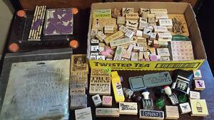 Various ink stamps