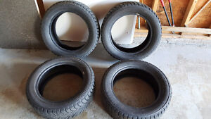 Set of 4 Studded Winter Tires (205/55 R16)