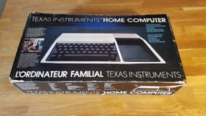 Texas instrument Home computer TI-99/4A Complete in box Tested