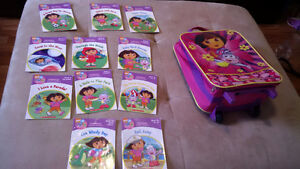 Dora Books and Luggage Bag