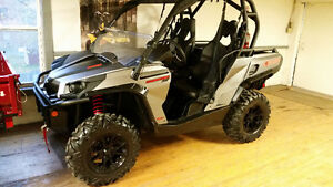 CAN-AM 1000 XT BRUSHED ALUMINUM 2015 3YEAR WARRANTY