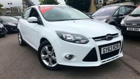2014 Ford Focus 1.6 125 Zetec Powershift Automatic Petrol Hatchback