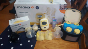 Medela Freestyle Double Electric Breast Pump with Accessories
