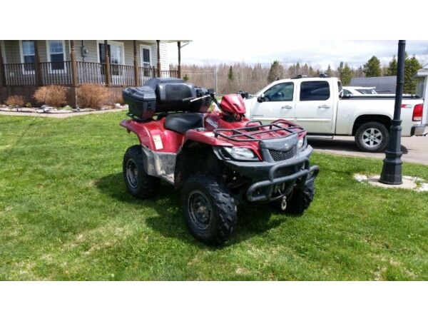 Used 2009 Suzuki KING QUAD 500