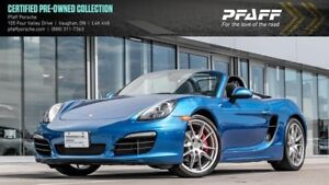 2015 Porsche Boxster S PDK - LOW KMS, BOSE!