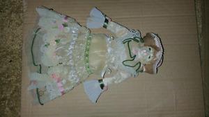 antique porcelain cat doll