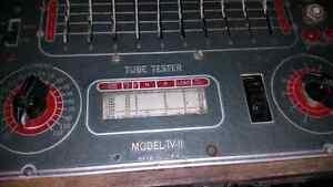 Vintage Tube Tester Model TV-11 by Superior Instruments Co. Windsor Region Ontario image 1