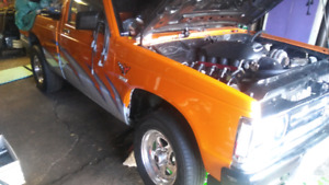 Chevrolet s10 projet a terminer