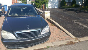 2003 Mercedes-Benz 4 Matic S-Class 4.3L Sedan Low Km Moon Roof West Island Greater Montréal image 2