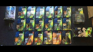 Star Wars figures LOT NEW IN BOX!