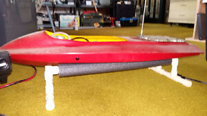 Two RC Gas Powered Boats