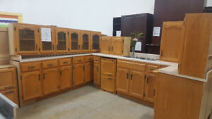 13 Pc. Oak Kitchen Set at Cambridge ReStore
