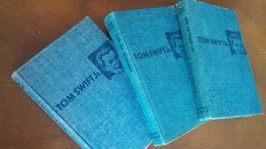 Three Old Tom Swift Books, 1954-55
