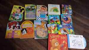 Board books for younger babies or children