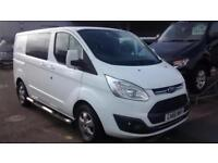 Ford Transit Custom 2.0TDCi Diesel (170PS) 310 L1 SWB Limited Double Cab in Van