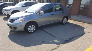 2009 NISSAN VERSA CLEAN LOW KM SAFETY INCLUDE IN THE PRICE!!