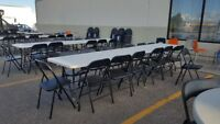 Chairs and Tables for Rent !!!!!!!!!!!!!!!!!!!!!