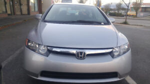 Honda Civic LX Low KM! Road ready! Low Price! Bitcoin accepted!