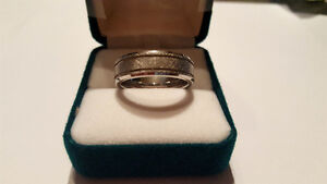 Men's Carbide Ring FATHER'S DAY brand new
