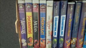 Kids Movies - most VHS, some DVDs still left
