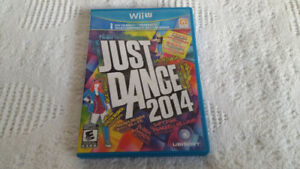 Nintendo Wii Sonic Game and Just Dance 2014 WiiU Game