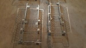 slide out wire shelves