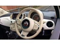 2016 Fiat 500 1.2 Lounge ECO 3dr Manual Petrol Hatchback