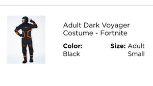 Fortnite Dark Voyager Costume