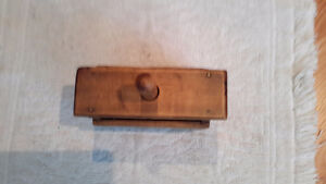 Collection of ANTIQUE WOODEN BUTTER PRESSES London Ontario image 5