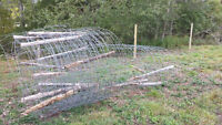 galvenized cow fence 75 feet or more