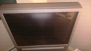 Sony 43 Inch Rear Projection TV with matching stand