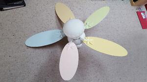 Petal Ceiling Fan for girls room