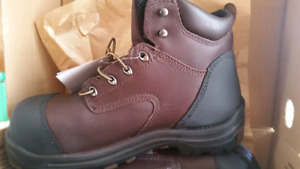Brand new (size 11) red wings, composite toe work boots