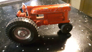 Small die cast tractor