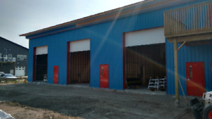 New 1500 sq ft Garage/Workshop space available now!!