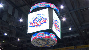 4 TICKETS TOGETHER ROW 3 ICECAPS VS DEVILS SAT JAN 21st 4:00pm