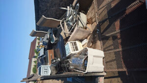 Free Scrap metal pick up.  Free Scrap metal removal.