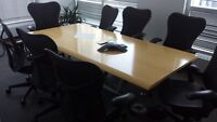 BOARDROOM TABLES BY HERMAN MILLER NLY 395.00 City of Toronto Toronto (GTA) Preview