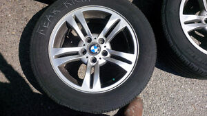 TIRES AND RIMS FOR BMW X3