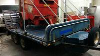 Remorque VTT/Motoneige Double essieux