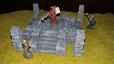 Sacred Altar Terrain Warhammer D&D Frostgrave 28mm 40K Fantasy Wargame 25mm RPG
