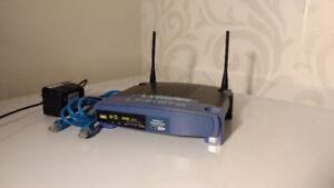Routeur Sans-fil - Linksys WRT54GL v8.0