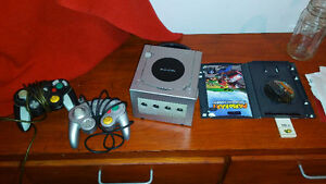 Game cube in greay shape