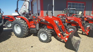 SALE New Massey Ferguson 57.3hp Tractor With Loader!