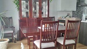 Bermex - Set de salle à manger style Mission