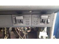 Bmw e28 5 series headlight fog light switch 1982 breaking spares