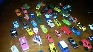 Micro machines and hotwheels