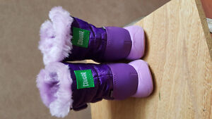 Toddler Cougar Size 5 Purple Winter Boots