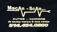 Mécani - Scan remplacement de moteur & transmission